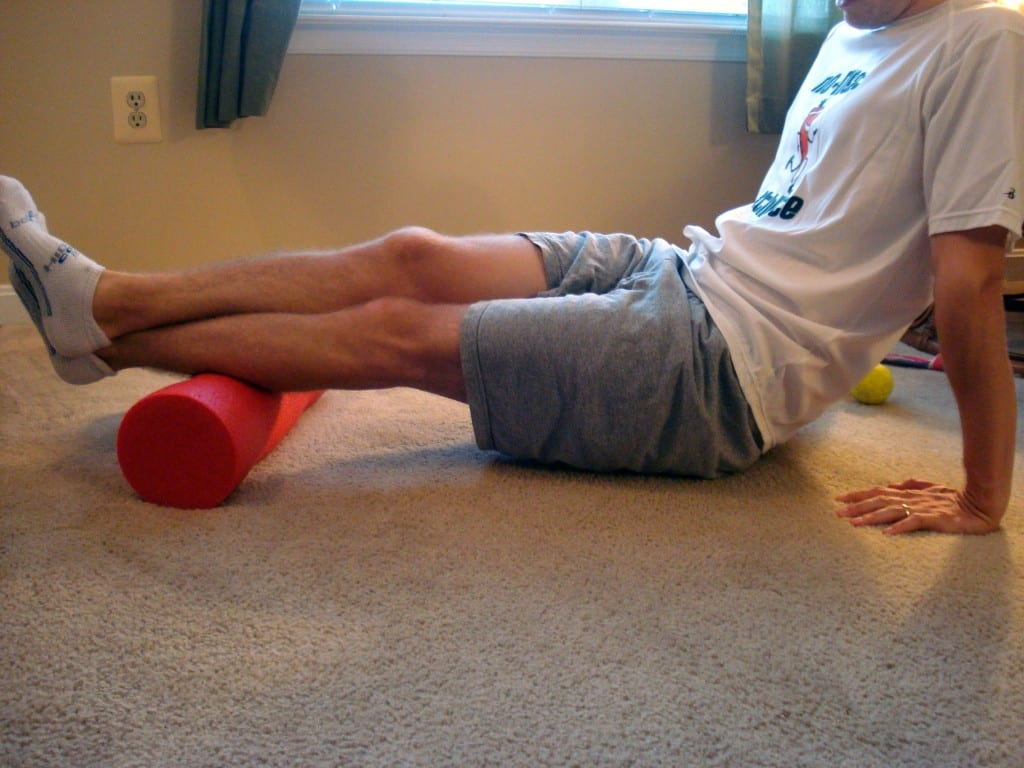Calves Foam Rolling
